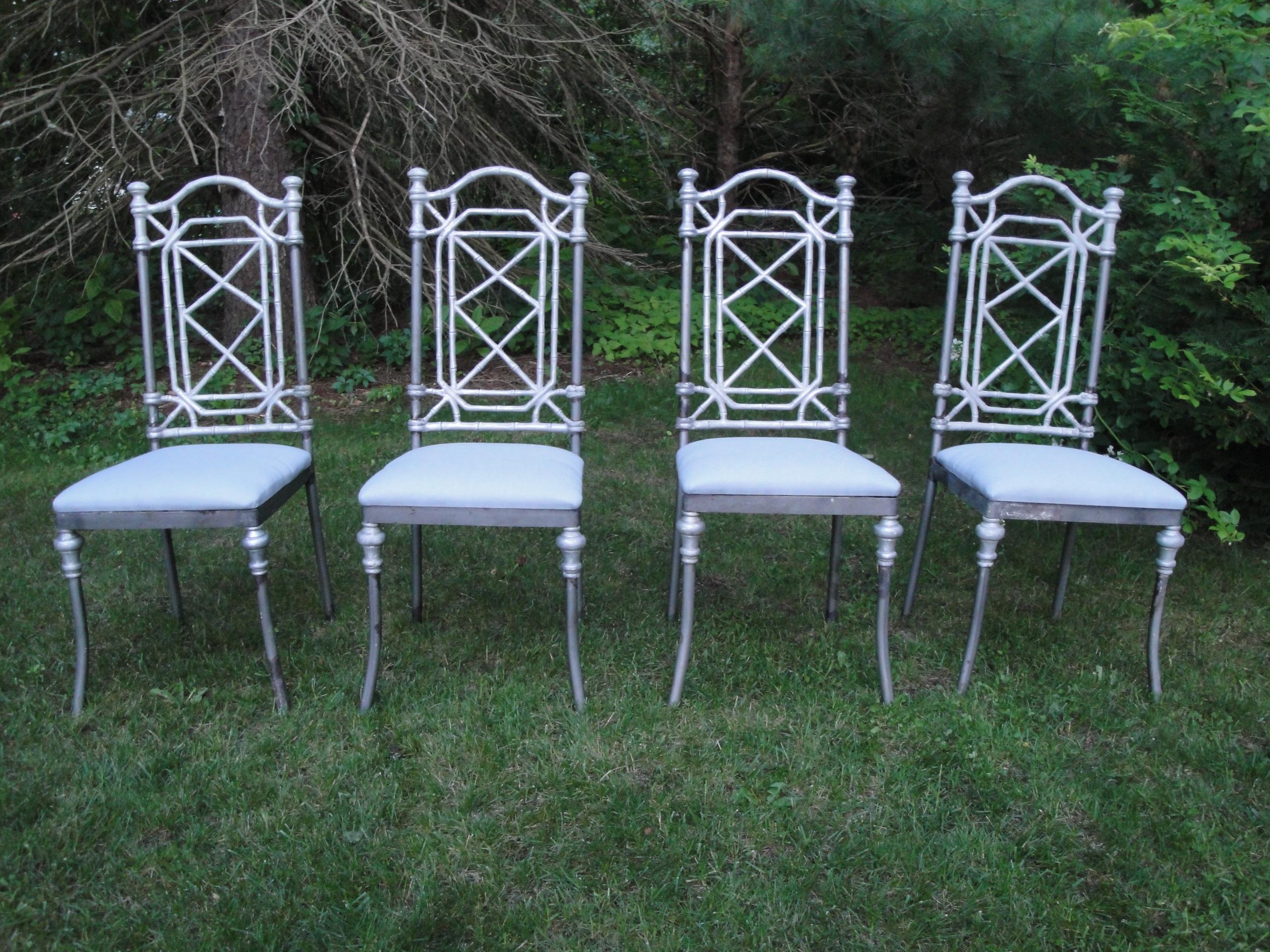 Garden Furniture Bamboo faux bamboo furniture - plain & elegant antiques