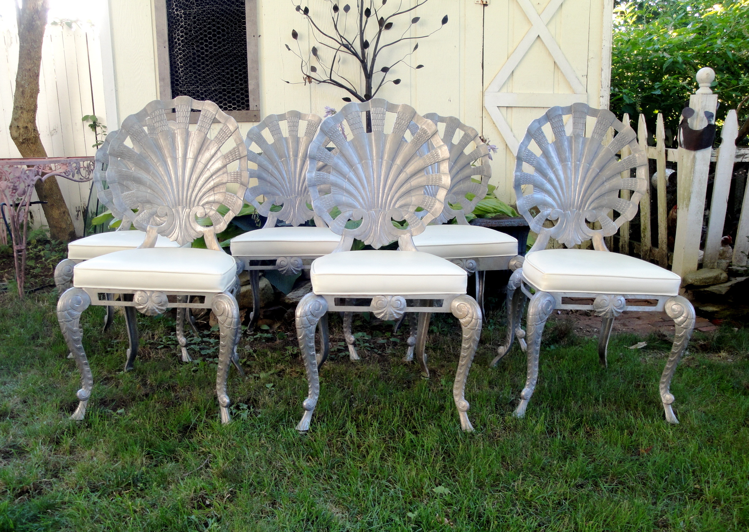 Cast Aluminum Grotto Chairs ...