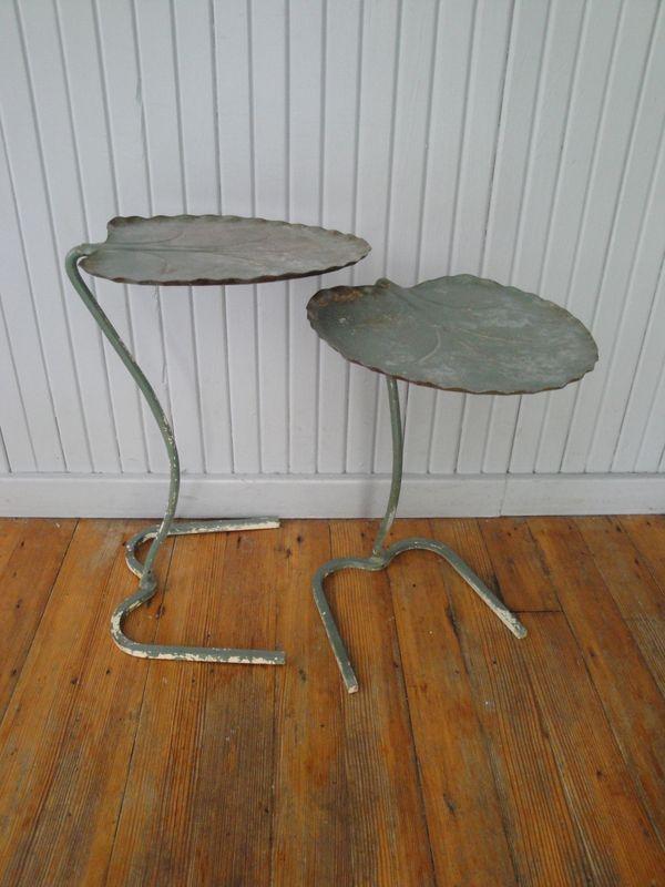 Lily Pad Tables Plain Amp Elegant Antiques