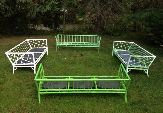 Vintage Meadowcraft Sofas ...
