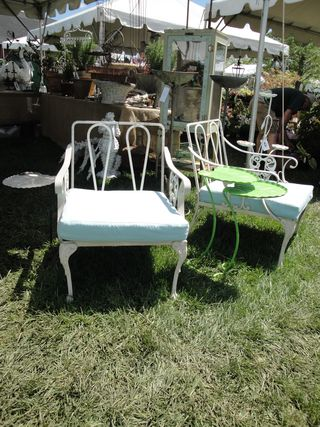 Pair Of Aluminum Club Chairs